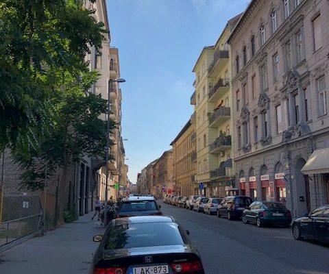 Straat Boedapest 1