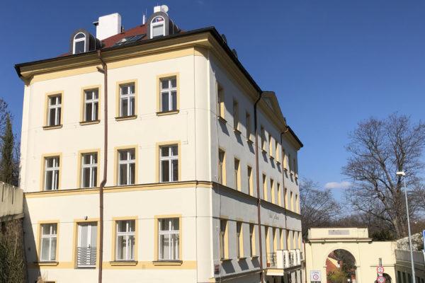 Villa Gotthard zijkant