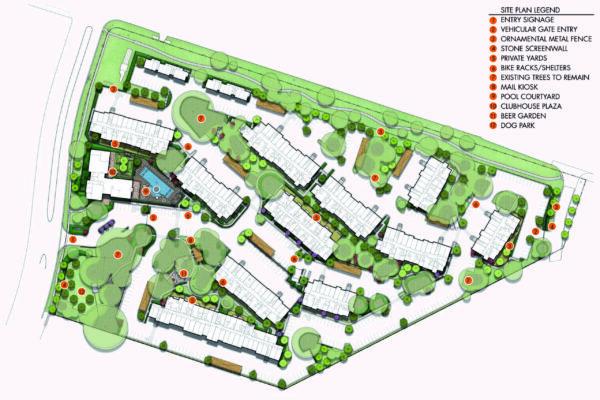 V@E - Rendered Site Plan